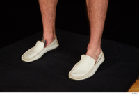 Max Dior casual foot shoes white loafers 0002.jpg