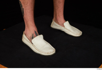 Max Dior casual foot shoes white loafers 0008.jpg