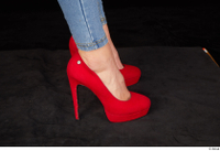 Daisy Lee business casual foot red high heels shoes 0007.jpg