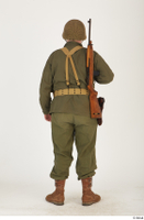 U.S.Army uniform World War II. - Technical Corporal - poses american soldier standing uniform whole body 0005.jpg