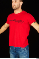 Anatoly dressed red t shirt upper body 0002.jpg