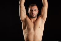 Anatoly  3 arm flexing front view nude upper body 0005.jpg