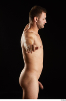 Anatoly  3 arm chest flexing nude side view upper body 0001.jpg