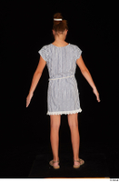 Isla casual dress dressed sandals standing whole body 0005.jpg