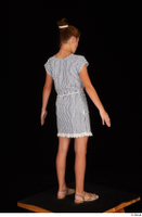 Isla casual dress dressed sandals standing whole body 0006.jpg