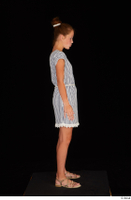 Isla casual dress dressed sandals standing whole body 0007.jpg