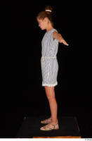 Isla casual dress dressed sandals standing t poses whole body 0003.jpg