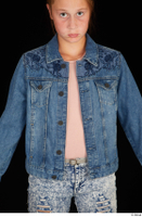 Isla casual dressed jeans jacket upper body 0001.jpg