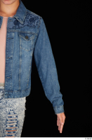 Isla arm casual dressed jeans jacket upper body 0002.jpg