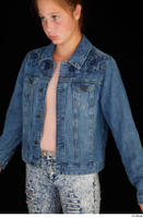 Isla casual dressed jeans jacket upper body 0002.jpg