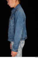 Isla arm casual dressed jeans jacket upper body 0003.jpg