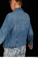 Isla casual dressed jeans jacket upper body 0004.jpg