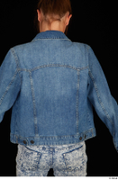 Isla casual dressed jeans jacket upper body 0005.jpg