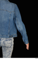 Isla arm casual dressed jeans jacket upper body 0005.jpg