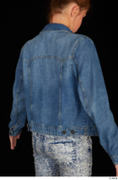 Isla casual dressed jeans jacket upper body 0006.jpg