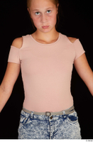 Isla casual dressed pink t shirt upper body 0001.jpg