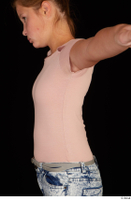 Isla casual dressed pink t shirt upper body 0003.jpg