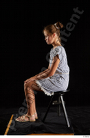 Isla  1 casual dress dressed sandals sitting whole body 0001.jpg