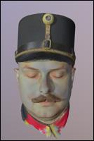 Municipal police Austria-Hungary 3D Scan Of Head