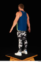 Herbert 10yers camo leggings dressed shoes sports standing tank top white sneakers whole body 0004.jpg