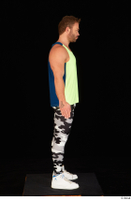 Herbert 10yers camo leggings dressed shoes sports standing tank top white sneakers whole body 0007.jpg