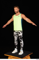 Herbert 10yers camo leggings dressed shoes sports standing tank top white sneakers whole body 0010.jpg