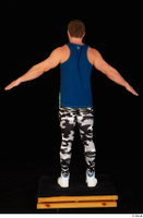 Herbert 10yers camo leggings dressed shoes sports standing tank top white sneakers whole body 0013.jpg