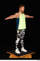 Herbert 10yers camo leggings dressed shoes sports standing tank top white sneakers whole body 0024.jpg
