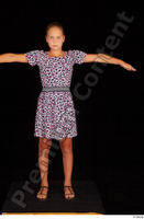 Esme casual dress dressed sandals shoes standing t-pose whole body 0001.jpg