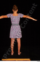 Esme casual dress dressed sandals shoes standing t-pose whole body 0004.jpg