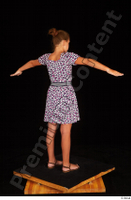 Esme casual dress dressed sandals shoes standing t-pose whole body 0005.jpg