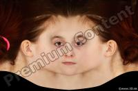 Woman head premade texture 0003
