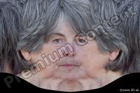 Woman head premade texture 0005