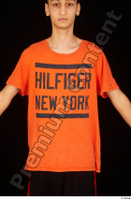 Danior dressed orange t shirt sports upper body 0001.jpg