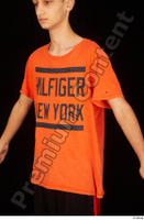 Danior dressed orange t shirt sports upper body 0002.jpg
