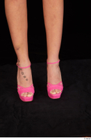 Katy Rose casual foot pink high heels shoes 0001.jpg