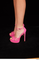 Katy Rose casual foot pink high heels shoes 0003.jpg