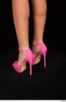 Katy Rose casual foot pink high heels shoes 0004.jpg