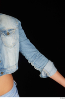 Katy Rose casual dressed jeans jacket upper body 0003.jpg