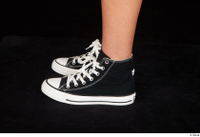 Katy Rose black sneakers foot shoes 0003.jpg