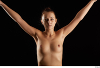 Katy Rose  3 arm flexing front view nude 0004.jpg