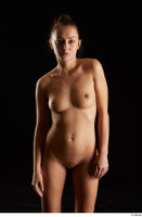 Katy Rose  3 flexing front view nude shoulder 0004.jpg