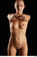 Katy Rose  3 arm flexing front view nude 0015.jpg