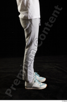 Duke  1 dressed flexing jogging suit leg side view sneakers sports sweatsuit 0001.jpg