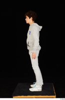 Duke dressed jogging suit sneakers sports standing sweatsuit whole body 0003.jpg