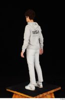 Duke dressed jogging suit sneakers sports standing sweatsuit whole body 0004.jpg