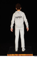 Duke dressed jogging suit sneakers sports standing sweatsuit whole body 0005.jpg