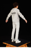 Duke dressed jogging suit sneakers sports standing sweatsuit whole body 0014.jpg