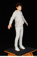 Duke dressed jogging suit sneakers sports standing sweatsuit whole body 0016.jpg