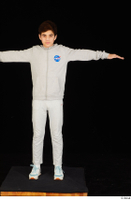 Duke dressed jogging suit sneakers sports standing sweatsuit t poses whole body 0001.jpg